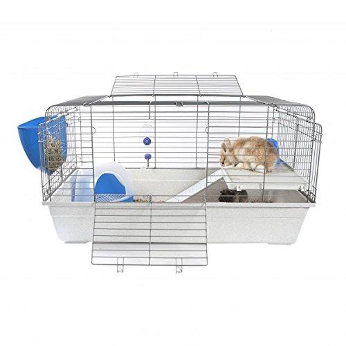 Jaula extragrande de interior para conejos o cobayas: Amazon.es ...