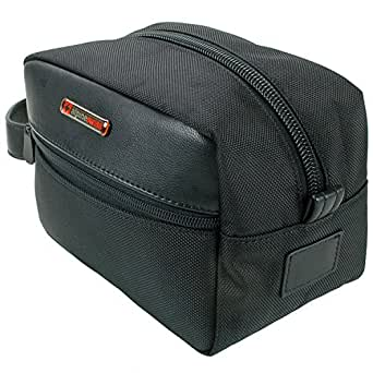 Alpine Swiss Hudson Travel Toiletry Bag Shaving Dopp Kit Case