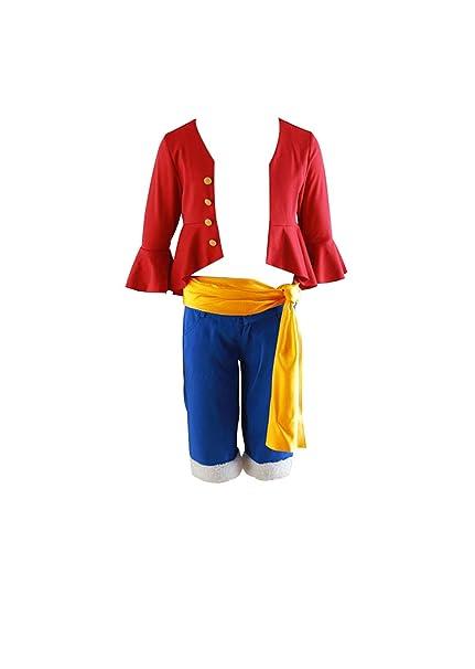Mtxc Men S One Piece Cosplay Costume Monkey D Luffy 4th