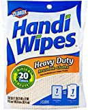 Clorox Handi Wipes Heavy Duty Reusable Cloths, 3 Count, (Pack of 12)