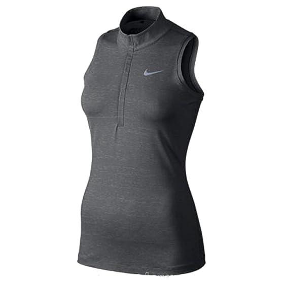 Discount Women Nike Ace Racerback 725622-012 Dark Grey Black For Sale