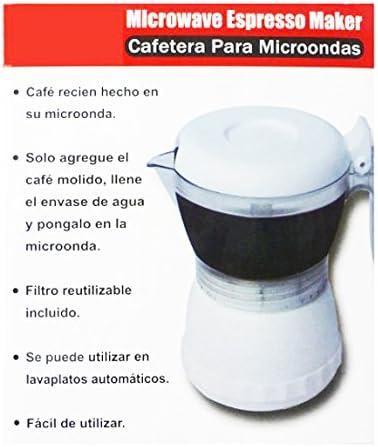 Cafetera microondas individual taza cafe en 3 minutos en ...