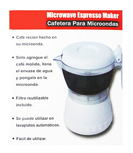Cafetera microondas individual taza cafe en 3 minutos en microondas NOVEDAD