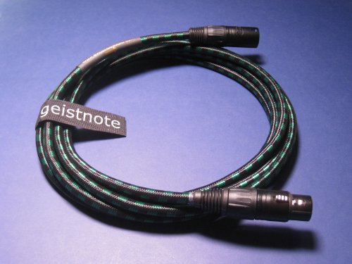 Geistnote's Evidence Audio Lyric HG Microphone Cable with Neutrik Gold Connectors 17 Ft (5 M) by Evidence Audio