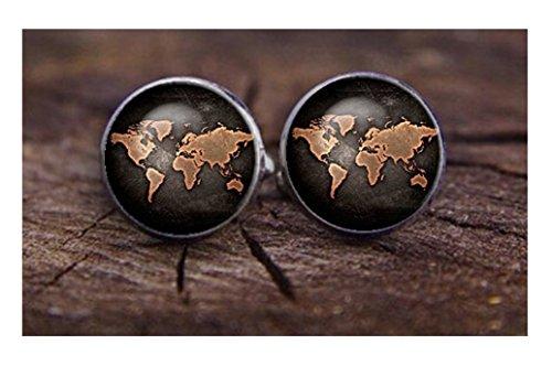 steampunk-new-world-map-planet-globe-mens-cufflinks-cuff-links-earth-st5