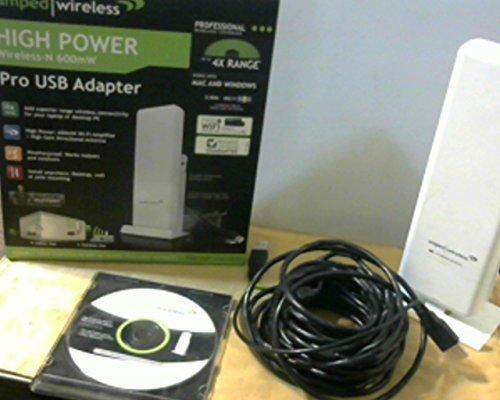 Amped Wireless High Power Wireless-300N 600mW USB Adapter (UA600) by Amped Wireless by Amped Wireless