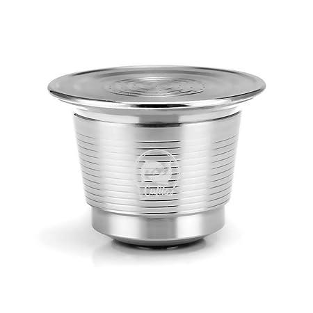 MENGCORE - Cápsula reutilizable de acero inoxidable reutilizable ...