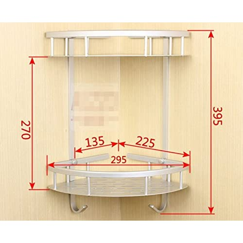 hot sale 2017 Aluminum bathroom storage rack space/ metal Towel rack/Bathroom wall mounted racks-H