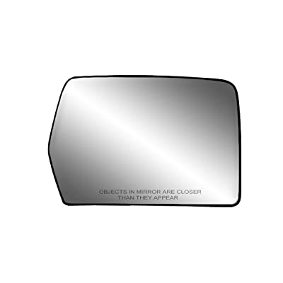 Fit System 80194 Passenger Side Non-heated Replacement Mirror Glass with Backing Plate: Automotive