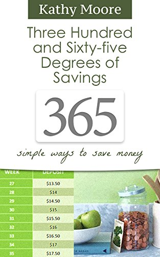 How to Save Money Each Month:365 Degrees of Savings: Simple Ways to Save Money (how to save money fast,how to save money for kids,how to save money on groceries): How to Save Money Each Month