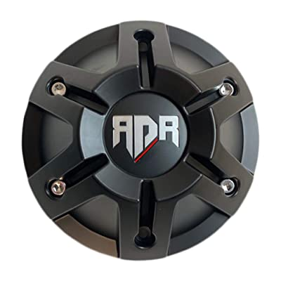 RDR Wheels CBRD4-1P Matte Black Center Cap: Automotive