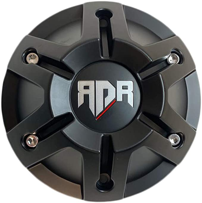 RDR Wheels CBRD05-2P Gloss Black Center Cap