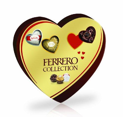 Ferrero Collection Heart Gift Box, 10 Pieces, 3.8-Ounces