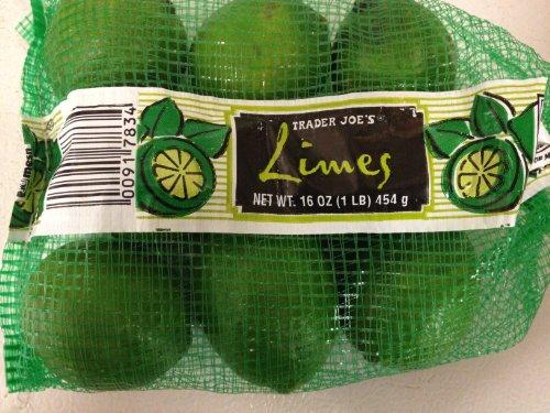 Trader Joe's Limes - 16oz., 1lb. (Pack of 2)