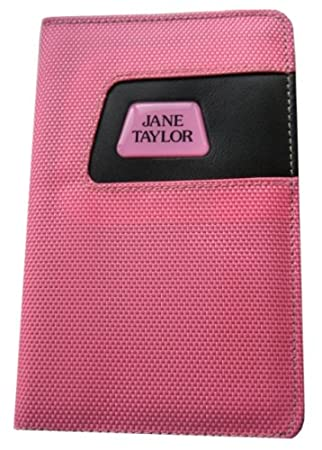 Ladies Golf Personalised Pink Scorecard Holder