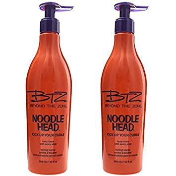 Beyond The Zone Noodle Head Kick Up Your Curls Curling Creme 11.5 oz – Pack of 2