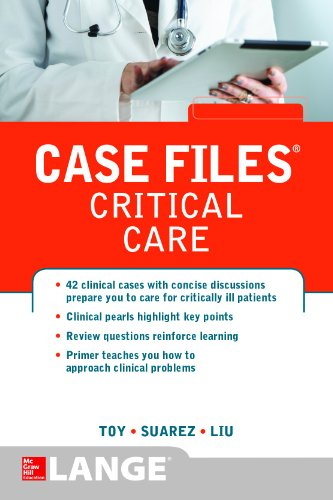 Case Files Critical Care (LANGE Case Files)