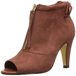 Bella Vita Women's Nicky Ii Ankle Bootie, Camel Super Suede, 6.5 W US