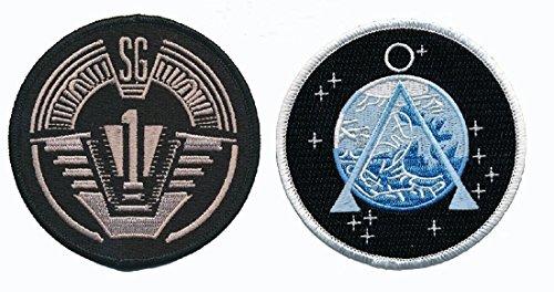 Stargate SG-1 Uniform/Costume 3.0 X 3.0 inch VELCRO Patch (Bundle (Custom Jedi Costume)