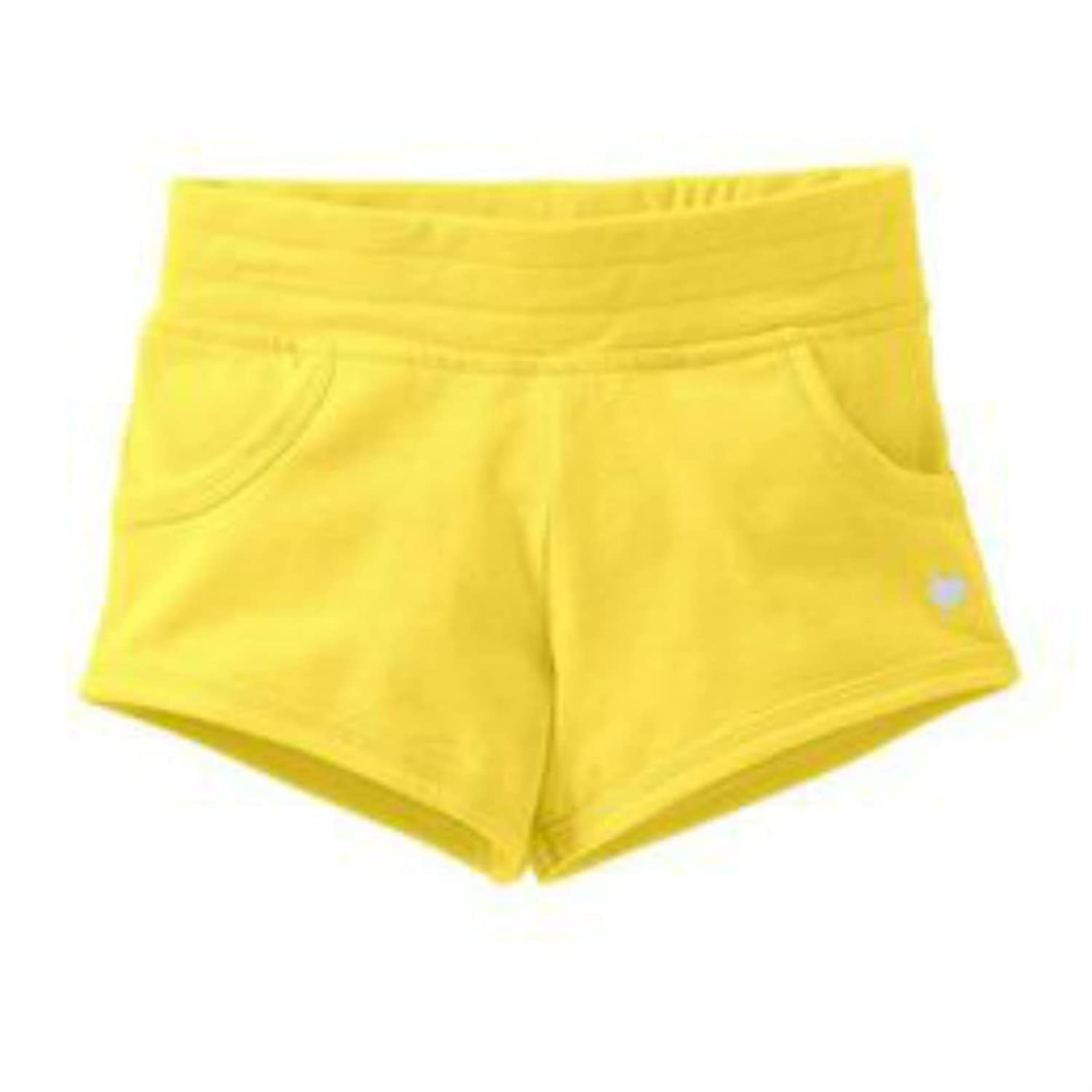 Carter's Kids/Girls Solid Knit Shorts Yellow (4)