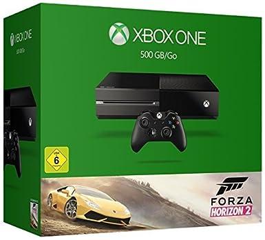 Xbox One 500gb Konsole Bundle Inkl Forza Horizon 2 Amazon De Games