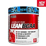 Evlution Nutrition LeanBCAA, BCAA's, CLA and L-Carnitine, Recover and Burn Fat, Sugar and Gluten Free (Fruit Punch, 30 Serving)