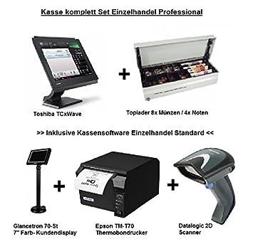 Caja Registradora Sistema minorista Bundle Professional Toshiba Set Finan zamtkon Forma: Amazon.es: Informática