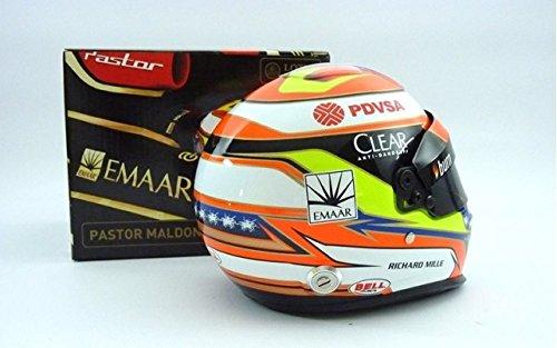 Lotus F1 Team Modell Helm Mini Formel 1 Pastor Maldonado 1/2Mensur 2014