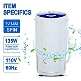 KUPPET Portable Spin Dryer 1500 RPM