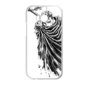 Cool Boy With Sword White HTC M8 case