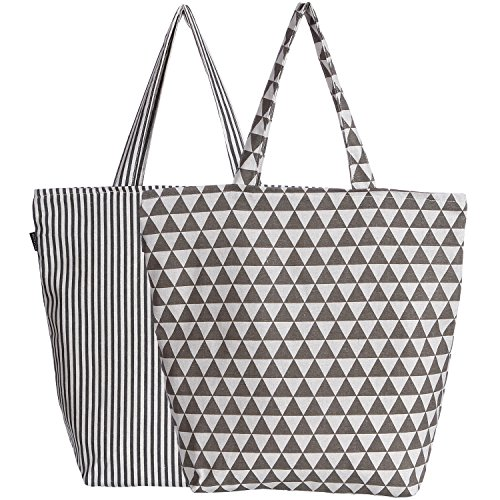 Canvas Grocery Bags Printed - 3