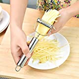 Ayutthaya shop Practical Stainless Steel Kitchen Vegetable Tools Gourd Grater Paring Knife Potato Carrot Peeler Apple Fruit Zesters