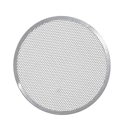 Paderno World Cuisine 14-1/8-Inch Aluminum Pizza Screen
