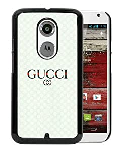 Fashionable And Unique Designed Case For Motorola Moto X 2nd Generation With Gucci 40 Black Phone Case