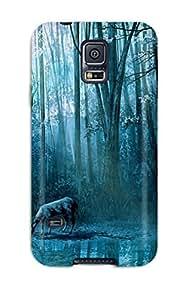 Excellent Design Artistic Phone Case For Galaxy S5 Premium Tpu Case