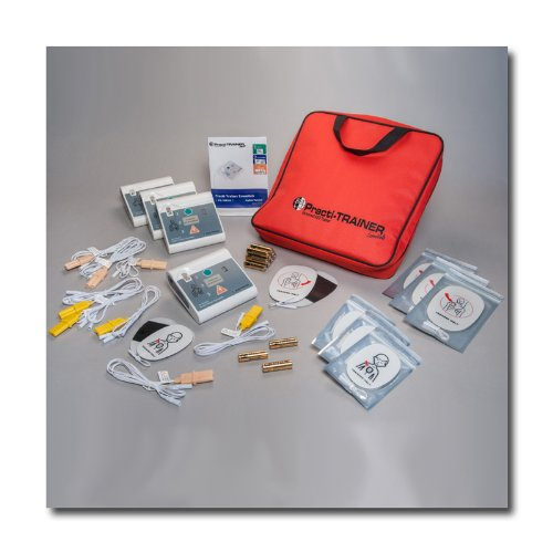 Pack of 4 AED Practi-Trainer Essentials CPR defibrillator Training Units, WNL# WL120ES10-4