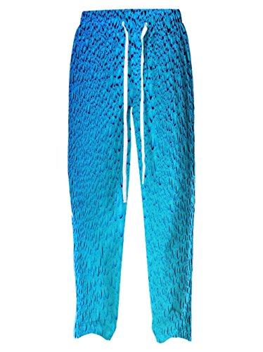 Snoogg Damen Straight Leg Schlafanzughose Mehrfarbig Mehrfarbig