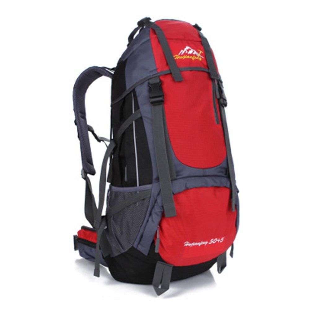 fhgj 70lハイキングバックパック/トレッキングリュックサック/登山リュックサック、 B07F79HJC1 F