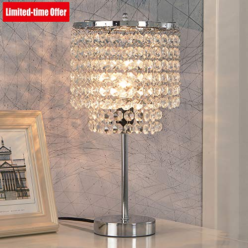lamps for bedrooms crystal - 8
