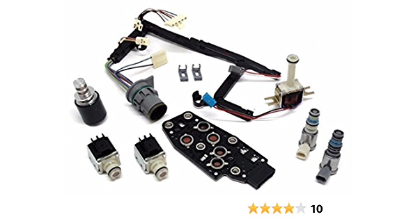 4L60E 4L65E Remanufactured Trans Master Solenoid Kit Compatible with GM EPC Shift 2003-On 6pc Set 4L60E 03- Set