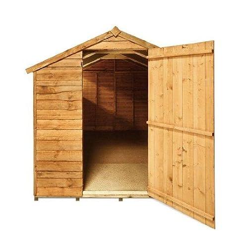 BillyOh - Cobertizo (297, 4 x 195, 7 cm, machimbre, madera, estilo rústico): Amazon.es: Jardín