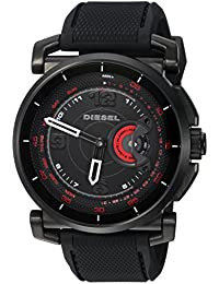 On Men's Hybrid Smartwatch Black Silicone DZT1006