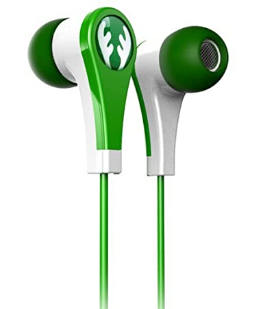 iFrogz IF-ANE-DER Earbuds Specially for Kids (Safe for Ears)- Green Mobile Phone Wired Headsets at amazon
