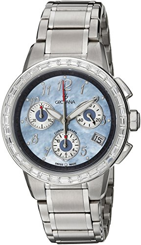 Grovana-Unisex-5094-9735-Contemporary-Analog-Display-Swiss-Quartz-Silver-Watch