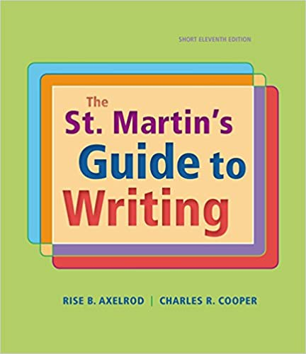Amazon the st martins guide to writing short edition the st martins guide to writing short edition eleventh edition fandeluxe Gallery