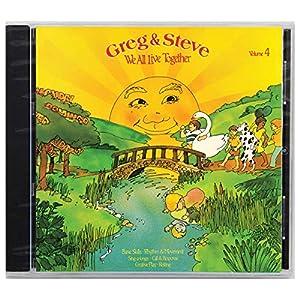 Greg & Steve Productions YM-004CD Greg & Steve: We All Live Together Vol. 4 CD