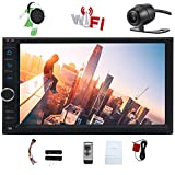 Cheap Octa-core Car Stereo Android 8.1 Oreo Head Units 7 Inch Capacitive Touch Screen Double 2 Din Car GPS Navigation Radio support Bluetooth OBD2 DVR 4G WIFI 1080P Video Subwoofer Video Out + Backup Camera
