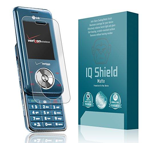 IQ Shield Matte Full Coverage Anti-Glare Screen Protector for LG Chocolate (VX8550) Anti-Bubble - Vx8550 Lcd