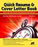 Quick Resume and Cover Letter Book, Michael Farr, 1593578563