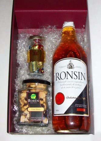 Caja de ron sin alcohol Ronsin 1 litro + coctel frutos secos ...